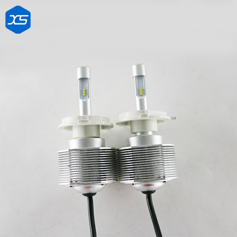 Hot!!! 2 Pcs 9005 9006 H11 H3 H7 Led H1 Auto Car Headlight 30W 4000LM 6000K Automobile Bulb All In One Lamp H11 LED Headlight<br><br>Aliexpress