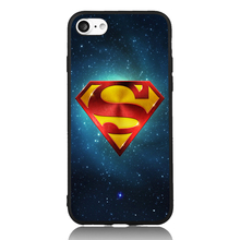 Superman Sky Star Marvel Comic Pop Art 6 Choices For iPhone 6 6s 7 Plus Case TPU Phone Cases Cover Mobile Protection Decor Gift(China)
