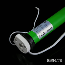 original Dooya 433MHZ 100V-240V weight support 2.1kg roller blind Tubular Motor fit for 38mm tube with Remote Control(China)