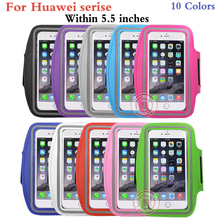 5.5 inch Running Jogging Sports GYM Arm Strap Case Cover for Huawei P10 P7 P8 P9 honor 8 lite nova Magic Waterproof Phone Bag(China)