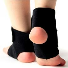 1Pair Safety Ankle Support Gym Running Protection Black Foot Bandage Elastic Ankle Brace Band Guard Sport Deportivas