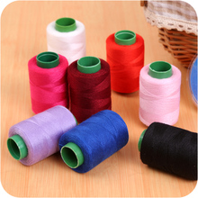 1 Roll Household Sewing Thread Polyester Thread Color Garment Sewing Thread Hand Stitching Sewing Thread Knitting Accessories