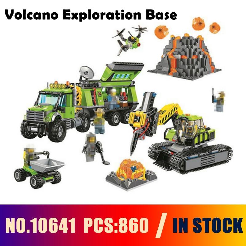 SLUBAN Compatible lego 60124 Models building 860PCS