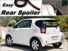 Root / Rear Spoiler For TOYOTA iQ For Scion iQ Trunk Splitter / Ducatail Deflector For TG Fans Easy Tuning / Free Modeling
