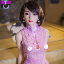 Buy 158cm Lifelike Full Body Solid Silicone Sex Dolls Realistc Breast Sexual Love Doll Men Fake Ass Artificial Vagina Pussy Toys