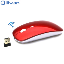 Ollivan C1 RF 2.4GHz Wireless Mouse Portable Mini Gaming Mice USB Charging Mause Gamer For Macbook Laptop Computer PC Office
