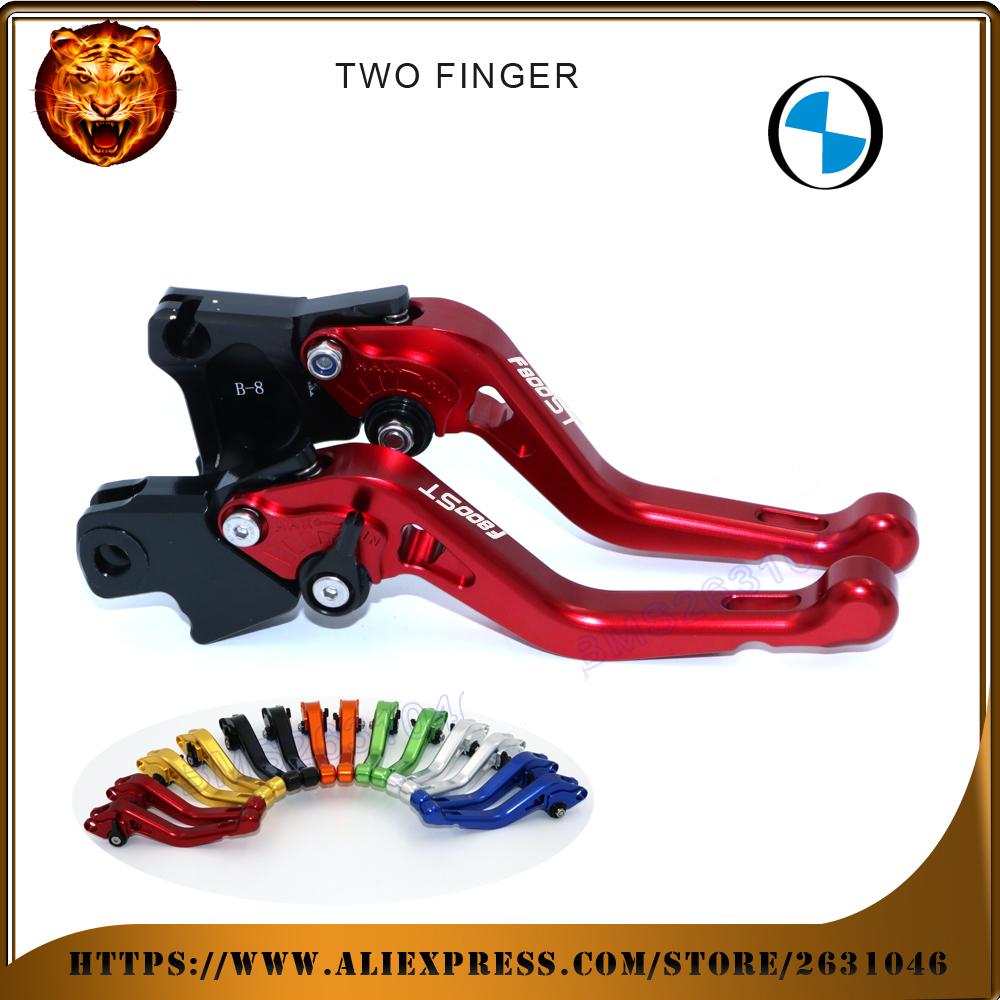 For BMW F800ST  F800 RED BLACK GOLD SILVER NEY STYLE MOTO MOTOBIKE Motorcycle Adjustable Short Brake Clutch Levers <br>