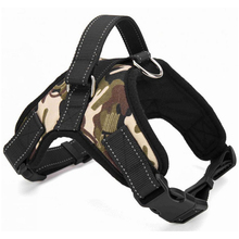 Hoopet Saddle Type pet Dog  harness vest Summer Mesh Adjustable Pets Harness Traction Rope dog leash - Camouflage