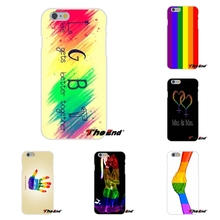 For Samsung Galaxy A3 A5 A7 J1 J2 J3 J5 J7 2015 2016 2017 Gay Lesbian LGBT Rainbow Pride ART Silicone Cell Phone Case