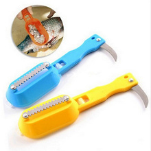 High quality Practical Scale Scraper Clam Opener for Cleaning Scraping Fish Kitchen Accessories Cooking Tool(China)