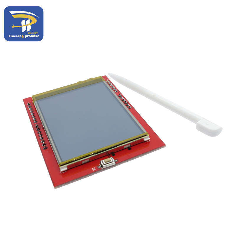 LCD module TFT 2.4 inch TFT LCD screen for Arduino UNO R3 Board and support mega 2560 with gif Touch pen