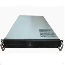 Server computer case 2U 650mm Internet cafe box server Chassis 19-inch Rack type(China)