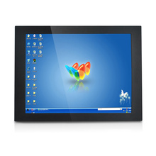 All in one dual screen POS diaplay touch monitor 15 Inch touch pos monitor/all in one touch display touch screen pc