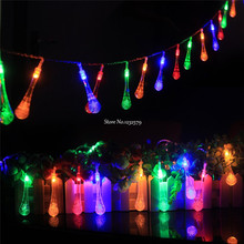 5M 30 LED Snowball Bell Star icicle Cherry Rose Fairy String Light Christmas Tree Lights For Party Outdoor Holiday Wedding Decor