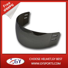 2016Silver Hockey Visor anti scratch both side safety face guard  Mirror Visor