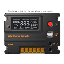 12V/24V 20A Regulador Solar Charge Controller Panel Battery Regulator Auto Switch Overload Protection Solar Panel(China)