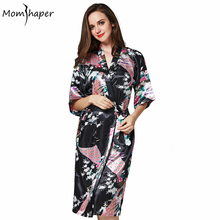 Robe Bathrobe women Kimono robes Pajamas Silk gowns women bridesmaid robes women's home robes clothing clothes Terry bathrobe(China)
