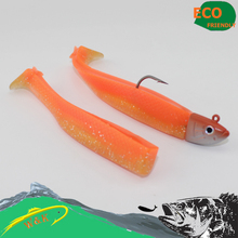 12 cm soft bait fish minnow lure for zander and rock fish fishing lure VS BLACK MINNOW #H1602-140(China)