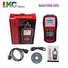 2016 Top Selling Original Autel VAG 505 for OBD2 Scan Tool Diagnostic Interface Autel VAG505 Code Scanner with Fast Delivery