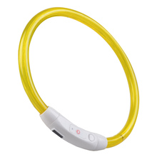 Pet Articles 3 Modes Rechargeable USB Waterproof LED Luminous Light Band Safety Pet Collar For Outdoor With Battery4