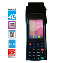 Handheld Terminal Printer Reader Wirless Portable 1D 2D Laser Bar code Scanner Android Mobile Data Collector PDA RFID Bluetooth