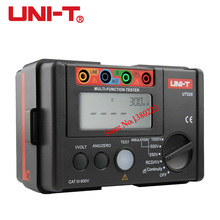 UNI-T UT526 Multi-function digital electric meter Electrical Insulation Tester Earth Resistance Meter+RCD Test+Continuity+AC/DCV(China)