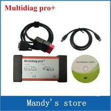 Quality A Multidiag Pro+ 2015.R1 /2014.R2 software for More Cars/Trucks and OBD2 Scanner TCS cdp pro plus diagnostic tools