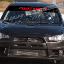 FUJITSUBO G12 Windshield Decal Auto Sticker PVC
