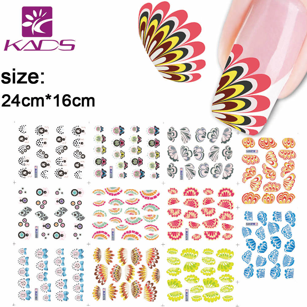 NEW 11sheet/SET  BLE1071-1081 Wings&amp;Feathers Water decal Nail Stickers design for nail accessories nail art decals<br><br>Aliexpress