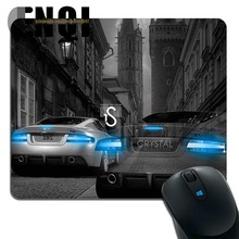 2015 hot sell Aston Martin DBS Crystal el Tony pattern Custom made Mini Game Silica gel mouse pad