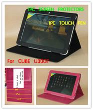 PU Leather Case For CUBE U30GT Tablet Cover Case ,U30GT Stand Leather Cover Case ,.(China)