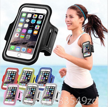 Arm band Wrist Phone Case Cover Running Jogging Pouch Brassard Sport Bag For Xiaomi Redmi Note 3 Pro/Huawei P9 P8 Lite/Oneplus 3
