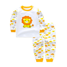 Brand Original Baby Boy Girl Clothing Set Lion Kids Pajamas Sets Baby Newborn Bebes Roupa Infantil Memino Clothes Toddler Suits