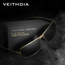 2016 New arrival VEITHDIA Polarized Sunglasses Men Brand Designer Vintage Male Sun Glasses gafas oculos de sol masculino 2490(China)