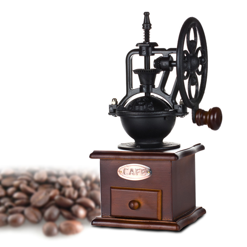Manually Coffee Maker 5 Cups espresso White Drip Portable Coffee Machine With Water Window Retro design 12X27 cm<br><br>Aliexpress