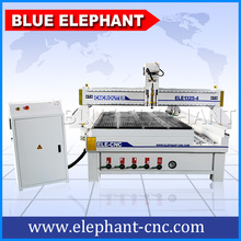 ELE1325-4 Cost-Effictive Wood Cnc Router With Rotary Cnc Router With Vacuum Table(China)