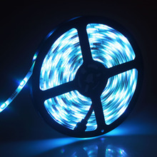 2017 New RGB 5050 5m LED Strip Light 30leds Waterproof ledstrip Flexible Lighting Indoor Home Decoration In Livingroom