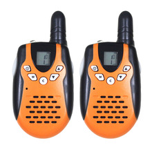 2pc mini M602 twintalker FRS GMRS handheld transceiver amateur radio de 2 VIAS duo talkie walkies w/ LED flashlight Topsung
