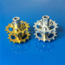 Metal Drving wheel,Alloy Driving Wheel for Shock Absorber Tank tracks crawler caterpillar Chassis, tank car parts,Free shipping(China)