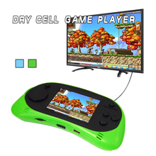 NEW Kids Handheld Game Console RS-8 2.5 inch LCD 260 8bit Games TV output Classic Games Portable Handheld Game Video Player(China)