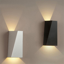 Outdoor waterproof led wall sconce modern iron wall lamp led bedroom bedside lamp wall lamp stair aisle light