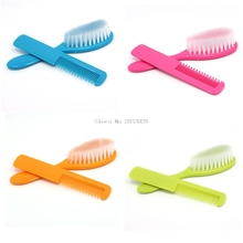 Drop Shape Brush Hair + Comb Hair Massage Sets Professional Newborn/Infant/Toddler/Baby Boy Girl Hair Care -B116