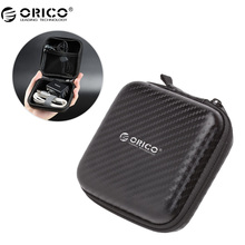 ORICO Earphone Accessories Earphone Case Bag Headphones Portable Storage Case Bag Box Headset Accessories(China)