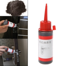 Buy 60ml Non-toxic Lubricant Maintaining Graphite Powder Engine Cover Safety Lock-M35