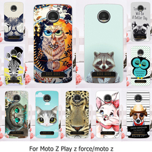 AKABEILA Phone Case For Motorola Moto Z Force Play X4 Edition Verizon Vector maxx Droid 2016 XT1635 XT1650 XT1650-05 Cover Skin(China)