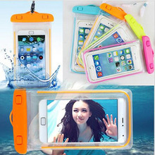 Swim photography Waterproof Phone Pouch Bag Night Underwater Luminous Case For Apple Iphone Ipod Touch 3 4 5 6 Most Phones Cover(China)