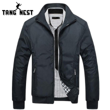 TANGNEST Men's Jackets 2017 Men's New Casual Jacket High Quality Spring Regular Slim Jacket Coat For Male Wholesale MWJ682(China)