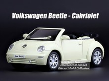 1:36 Scale Alloy Diecast Metal Car Model For TheVolks wagen New Beetle Cabriolet Collection Model Pull Back Toys Car(China)
