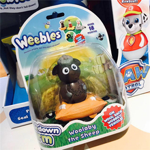 Weebledown Farm Wobbly Figure and Mini Vehicle Woollaby the Sheep by Character Options Tumbler Animal series toys Boy Gift