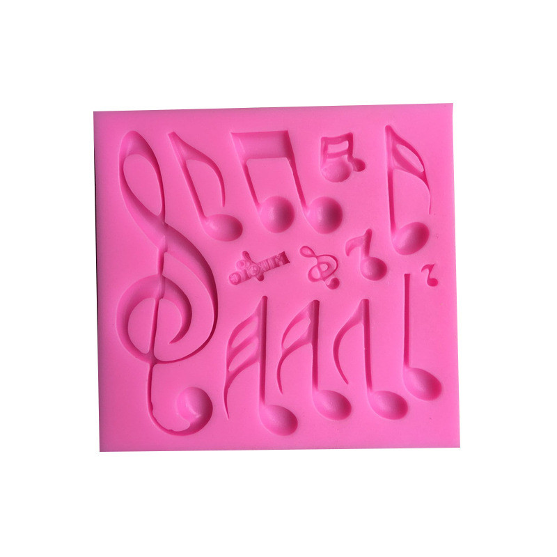 Other Baking Accessories and Cake Decorating Baking Accessories and Cake Decorating 1set Music Notes Shape Silicone Mold For Fondant Cake Mold Bakware Tools OD